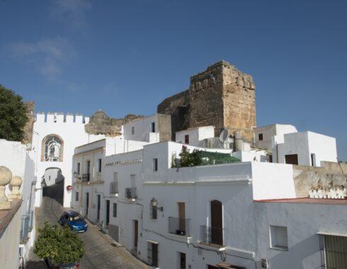 Restos de la antigua Muralla Árabe